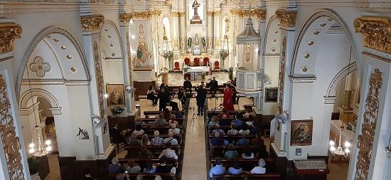 Exitosa apertura del Ciclo de Conciertos de Primavera de Benitatxell con la Gala Lírica de la Orquesta de Cámara de Valencia