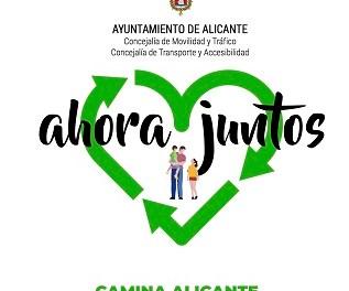 L'Ajuntament convida a participar en el programa 'Camina Alacant' per a conéixer sis itineraris per als vianants accessibles guiats