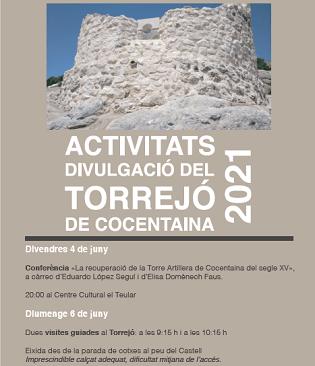 Divulgació de la recuperació de la Torre Artillera del segle XV de Cocentaina