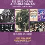 La concejalía de Igualdad de Elche organiza la exposición 'De súbditas a ciudadanas -España 1965 – 1995', sobre la evolución de los derechos de la mujer