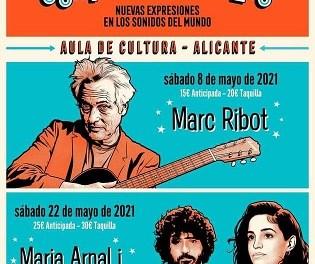 Fundación Mediterráneo reúne en Alicante a Marc Ribot este sábado y a María Arnal i Macel Bagés dentro del ciclo Sonidos Globales