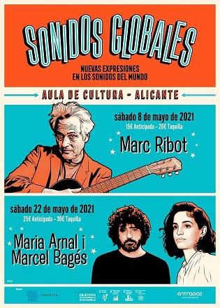 Fundació Mediterráneo reuneix a Alacant a Marc Ribot aquest dissabte i a María Arnal i Macel Bagés dins del cicle Sonidos Globales