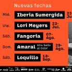 Fangoria, Amaral, Lori Meyers y Loquillo encabezan las nuevas confirmaciones de Muelle12
