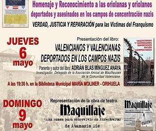 Este jueves se iniciarán las Jornadas de Memoria Histórica en la Biblioteca Municipal María Moliner organizadas por el Ateneo Viento del Pueblo