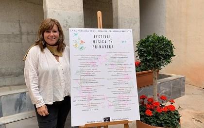 Cultura presenta el Festival 'Música en Primavera' con las actuaciones de las bandas locales en Orihuela, costa y pedanías