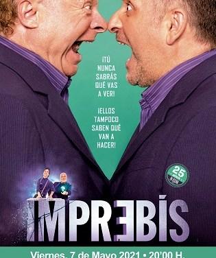 """""""Imprebis"""" el mejor teatro de improvisación, en el Teatro Chapí de Villena"""