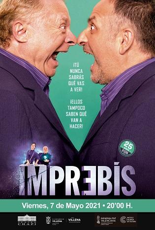 """""""Imprebis"""" el millor teatre d'improvisació, en el Teatre Chapí de Villena"""