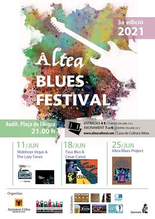 Quatre grups completen el cartell de la 3a edició d'Altea Blues Festival