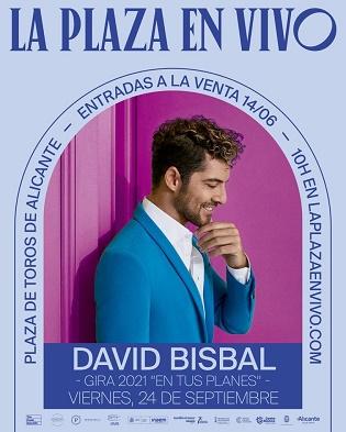 "David Bisbal en ""La Plaza en Vivo"" d'Alacant"