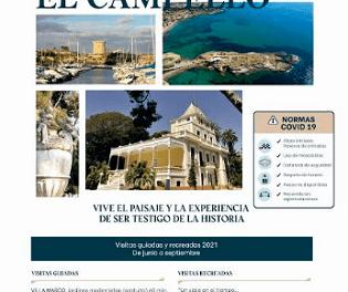 Les visites gratuïtes guiades i recreades a Vila Marco i La Illeta de El Campello arranquen el 19 de juny en tres idiomes