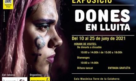 """El Ayuntamiento colabora con Amnistía Internacional de Elche en la exposición """"Dones en lluita"""""""