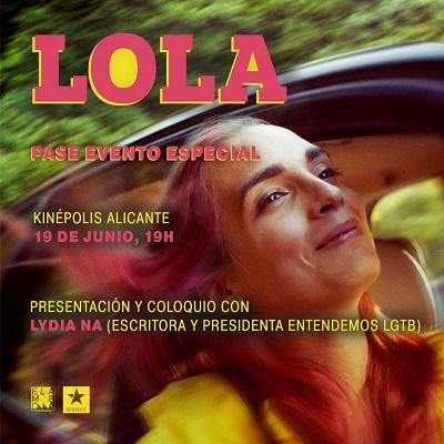 """Estrena de """"LOLA"""" en els cinemes Kinépolis d'Alacant"""