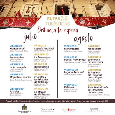 Rutas Turísticas para julio y agosto: una oferta irresistible para vivir la Fiesta de la Reconquista y de Moros y Cristianos