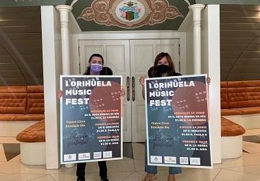 """El I Festival """"Orihuela Music Fest"""" reuneix joves promeses musicals del municipi"""