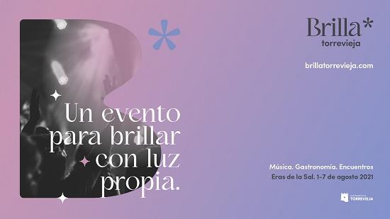 Brilla Torrevieja, el festival musical que nace para conectar al público con la cultura