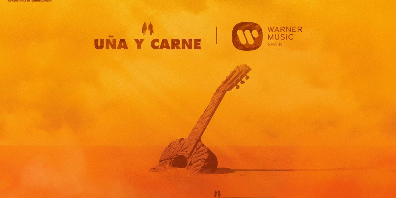 """El grup musical """"Uña y carne"""" signa amb Warner Music la distribució digital del seu primer treball"""