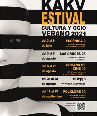 Cultura presenta 'KAKV Estival' que convierte Villena en la capital cultural de la provincia en verano