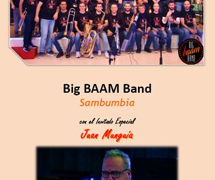 Concert gratuït de latin jazz en la Vila Romana de l'Albir amb la Big BAAM Band i Estiu Festiu