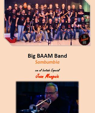 Concierto gratuito de latin jazz en la Villa Romana de l'Albir con la Big BAAM Band y Estiu Festiu