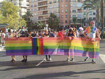 Manifestación LGTBI del Orgullo de Alicante
