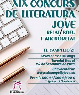 El Campello convoca el XIX concurso de literatura joven: relato breve y microrrelato