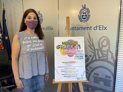 El Ayuntamiento de Elche impulsa el arte urbano a través del I concurso de Grafiti