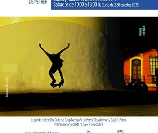 """Abierto el plazo de inscripción para el Curso """"Iniciación a la fotografía"""" del Grup Fotogràfic de Petrer"""
