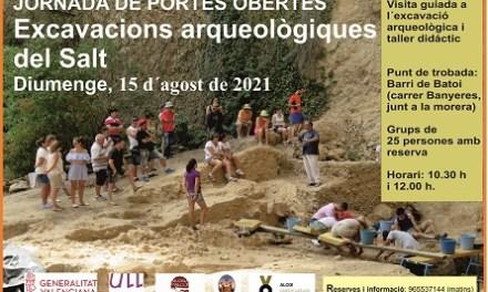 El yacimiento prehistórico de El Salt celebra este domingo una jornada de puertas abiertas