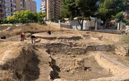 Cultura de Alicante convertirá el yacimiento del Parque de las Naciones en un museo al aire libre