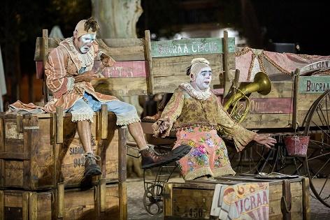 El Institut Valencià de Cultura ofrece teatro familiar en el festival FRESCA! con la compañía Bucraá Circus