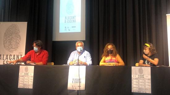 """Cultura presenta la programación de """"Alacant a Escena 2021"""""""