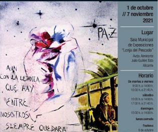 """Cultura d'Alacant i l'Associació """"11-M Afectats del Terrorisme"""" ultimen la mostra que s'exhibirà en la Llotja de l'1 d'octubre al 7 de novembre"""