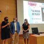 """Elia Barceló es la ganadora del Premio Costa Blanca 2021, que otorga Alicante Noir, por """"La noche de plata"""""""