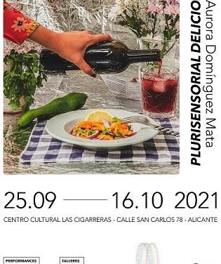 """L'exposició """"Plurisensorial Deliciós"""", d'Aurora Domínguez, relleva a la mostra sobre el fem espacial en Las Cigarreras"""