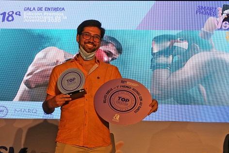 Numerosa representación de juventud contestana en los premios Topcreation 2020