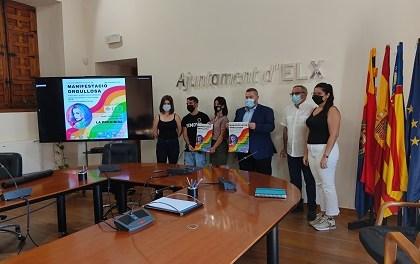 La concejalía de Igualdad impulsa una manifestación el sábado en Elche para visibilizar los derechos del colectivo LGTBI y trasmitir el valor de la diversidad