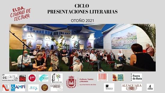 El Ciclo de Presentaciones Literarias Otoño 2021 dará comienzo este miércoles en el Museo del Calzado de Elda