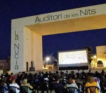 3.000 personas han disfrutado del Cine Familiar Estival en La Nucía