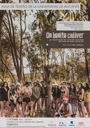 "El 1 de octubre se representará en el Centro Cultural Virgen del Carmen de Torrevieja la obra de teatro ""Un bonito cadáver"""