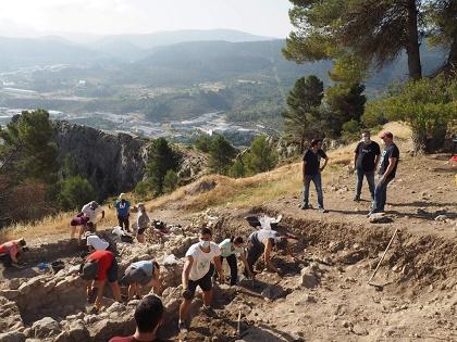 Presentado el proyecto de Consolidación y puesta en valor del yacimiento 'El Castellar'