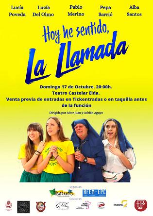 El Teatro Castelar ofrece teatro, cine y conciertos en su programación de octubre