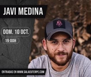 Javi Medina en Sala Euterpe este fin de semana