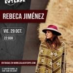 Los conciertos de Rebeca Jiménez, Corazones Eléctricos y Guiu Cortés (El niño de la hipoteca), el plan perfecto de este puente
