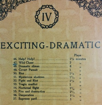 Exciting - Dramatic contents