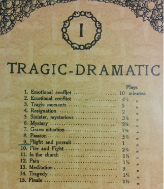 Tragic - Dramatic contents
