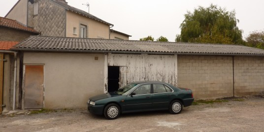 Garage, Rue de Bellac, Limoges (Réf 50)