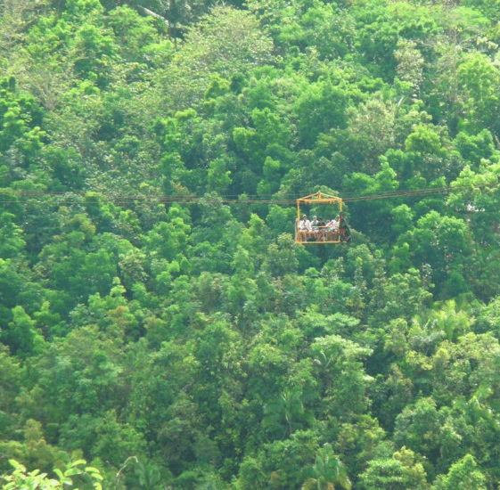 Loboc eco adventure park, bohol