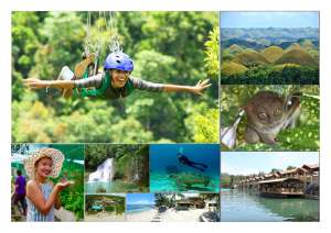 Bohol is one of the most attractive tourist destinations in the philippines!