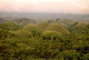 Chocolate Hills Bohol Tour