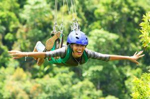 Danao adventure park bohol, philippines extreme thrills the plunge!